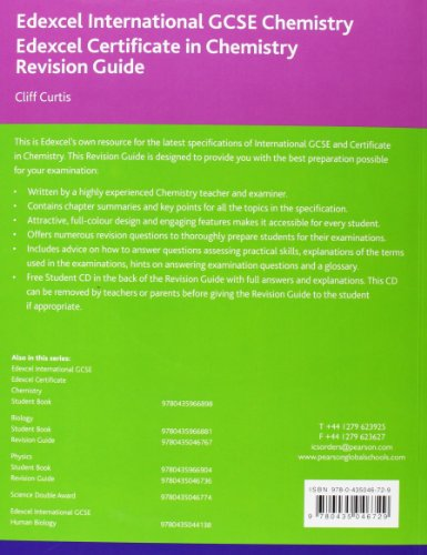 igcse chemistry revision guide Read cambridge igcse chemistry study and revision guide by david besser  with rakuten kobo providing guidance that helps students practice and.